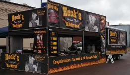 Ribs Rods & Rock'n Roll Vending set-up